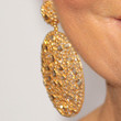 Kris Jenner Gold Dangle Earrings