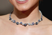 Kristen Bell Gemstone Collar Necklace