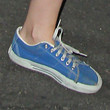 Kristen Stewart Canvas Sneakers