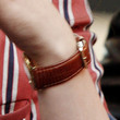 Kristen Stewart Leather Band Quartz Watch