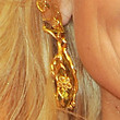 Kristin Chenoweth Jewelry - Gold Chandelier Earrings