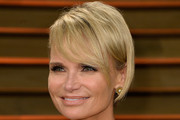 Kristin Chenoweth Short cut with bangs