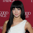 Ksenia Solo Hair - Long Straight Cut with Bangs