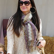 Kyle Richards Accessories - Patterned Scarf