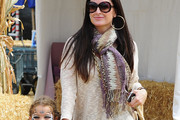 Kyle Richards Patterned Scarf