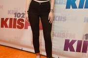 Kylie Jenner High-Waisted Jeans