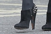 Kylie Minogue Studded Boots