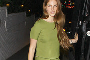 Lana Del Rey Fitted Blouse