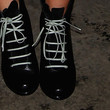 Lara Bingle Shoes - Leather Lace-ups