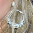 Laura Bell Bundy Diamond Hoops