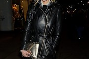 Laura Whitmore Leather Coat