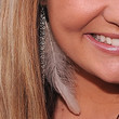 Lauren Alaina Feathered Earring