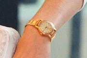 LeAnn Rimes Gold Bracelet Watch
