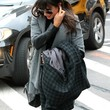 Lea Michele Wool Coat