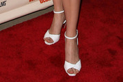 Leelee Sobieski Evening Sandals