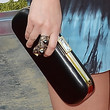 Leighton Meester Hard Case Clutch