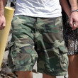 Liam Hemsworth Cargo Shorts