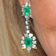Linda Thompson Jewelry - Dangling Gemstone Earrings