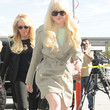 Lindsay Lohan Clothes - Trenchcoat
