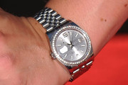 Lindsey Vonn Sterling Bracelet Watch