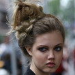 Lindsey Wixson Hair - Braided Updo
