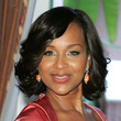 Lisa Raye Medium Wavy Cut with Bangs