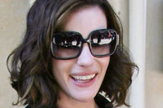 Liv Tyler Oversized Sunglasses