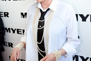 Liza Minnelli Layered Pearl Necklace