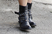 Lo Bosworth Motorcycle Boots