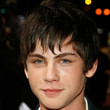 Logan Lerman Hair - Short cut with bangs
