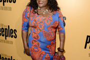 Loretta Devine Print Dress