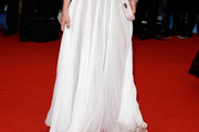 Ludivine Sagnier Long Skirt