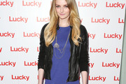 Lydia Hearst Leather Jacket