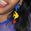 M.I.A. Dangle Decorative Earrings