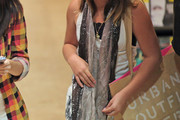 Makena Lautner Sequined Scarf