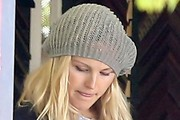 Malin Akerman Knit Beanie