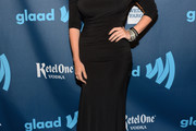 Mallory Hagan Off-the-Shoulder Dress