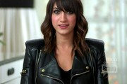 Mandana Dayani Leather Jacket