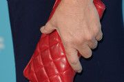 Marcia Gay Harden Quilted Clutch