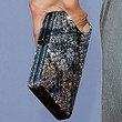 Maria Bello Handbags - Gemstone Inlaid Clutch