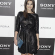 Maria Jose Suarez Clothes - Leather Dress