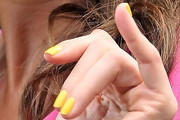 Maria Menounos Bright Nail Polish