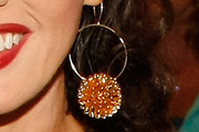 Marie Osmond Gold Hoops