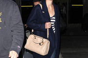 Marion Cotillard Leather Bowler Bag