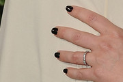 Marley Shelton Dark Nail Polish