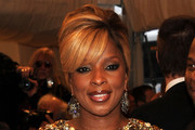 Mary J. Blige French Twist