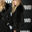 Mary-Kate Olsen Fur Coat