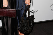 Mary-Kate Olsen Metallic Shoulder Bag