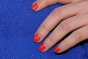 Mekenna Melvin Red Nail Polish
