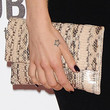 Mel C Leather Clutch
